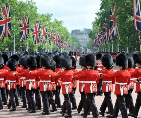 Changing of the Guards London England