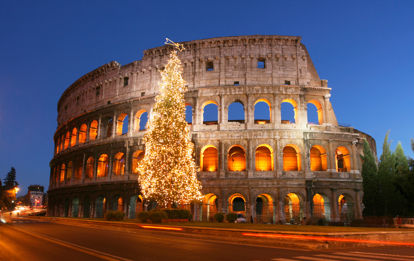 Colosseum, Rome, Winter