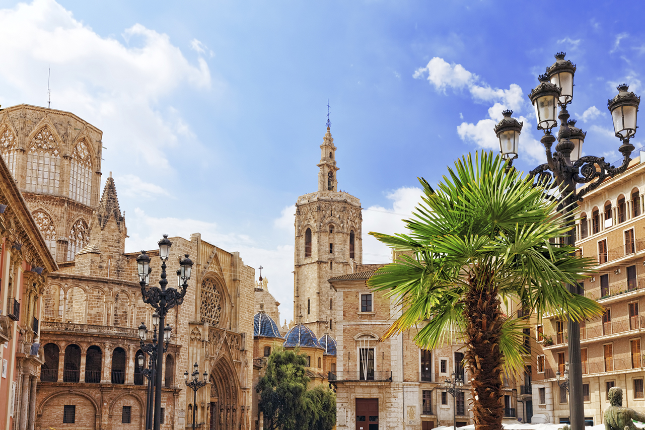 Square of Saint Mary's and Valencia Cathedral