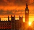 Big Ben at Sunset, London, England