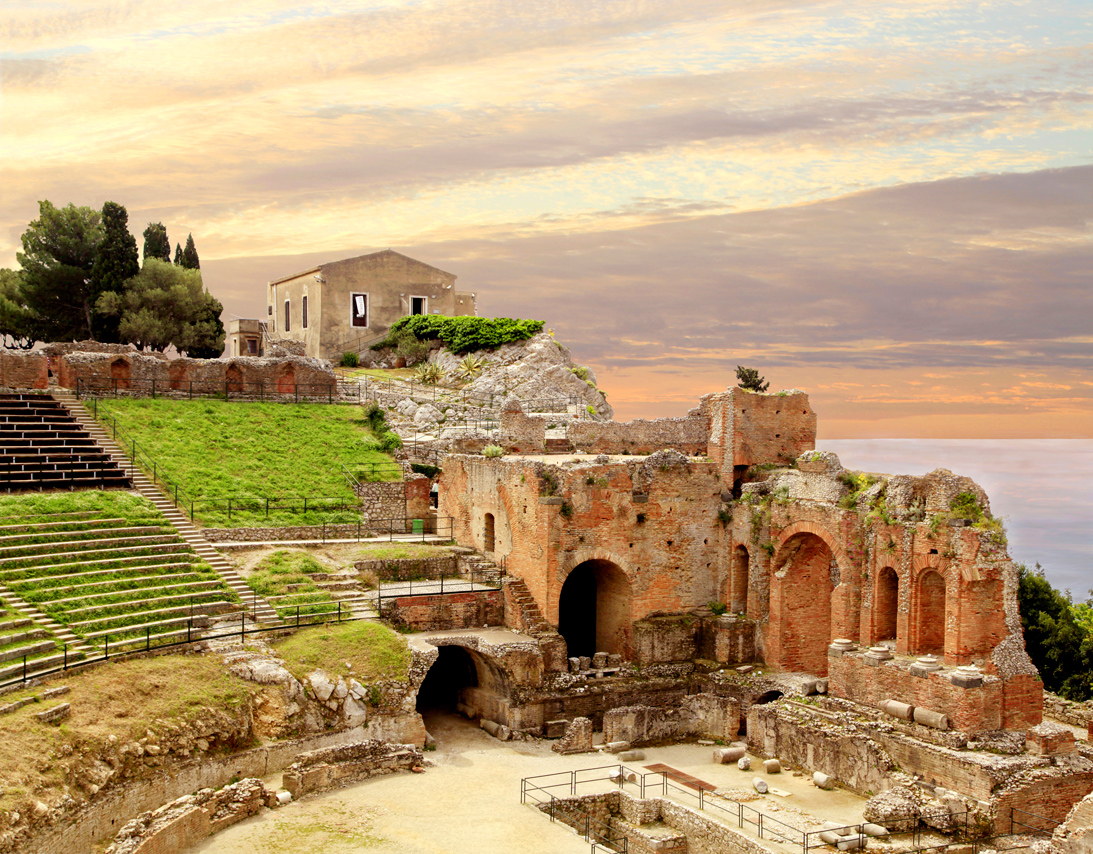 Greek Roman Amphitheater, Taormina