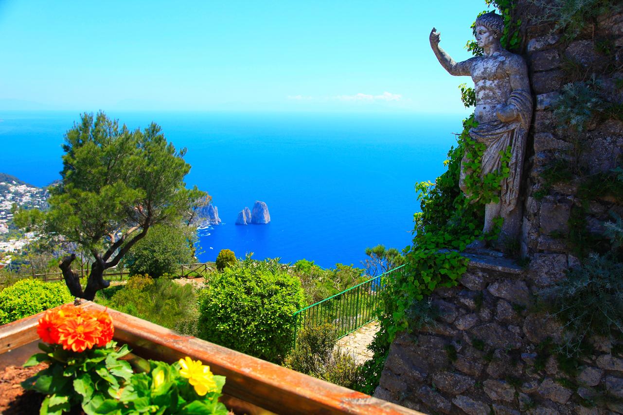 Gardens of Augustus, Capri