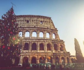 Rome, Italy in Winter